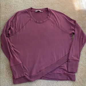 Athleta crew neck top.